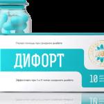 Дифорт — растительные капсулы от диабета