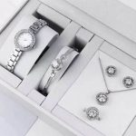 Dior Silver набор украшений