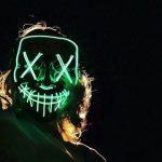 Неоновые маски Судная ночь